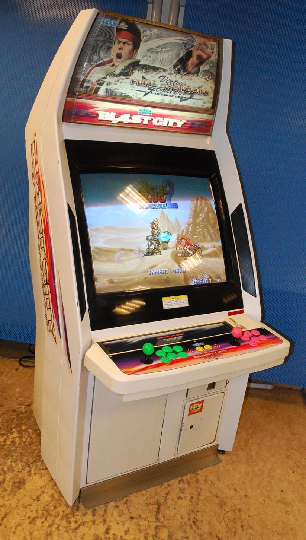 [For Sale] Sega Blast City Cabinet Blast%20(2)